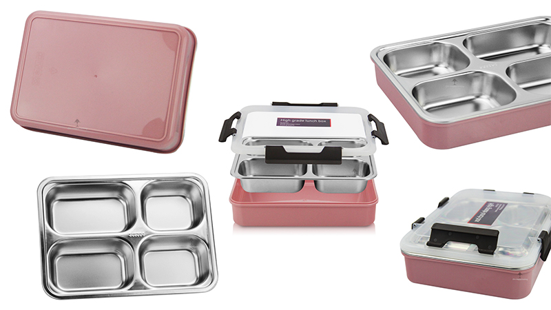 insulation bento tray ODM stainless steel