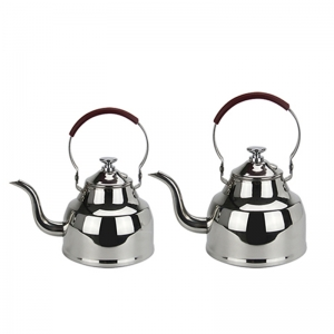 A gooseneck kettle e with a good appearance!