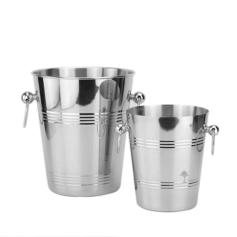 Stainlss steel ice bucket  large  ice bucket !
