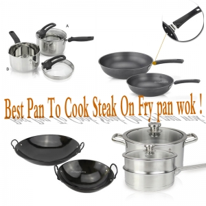 What stainless steel pots and pans do you need?
