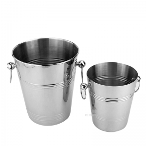 Stainless stee large ice bucket !