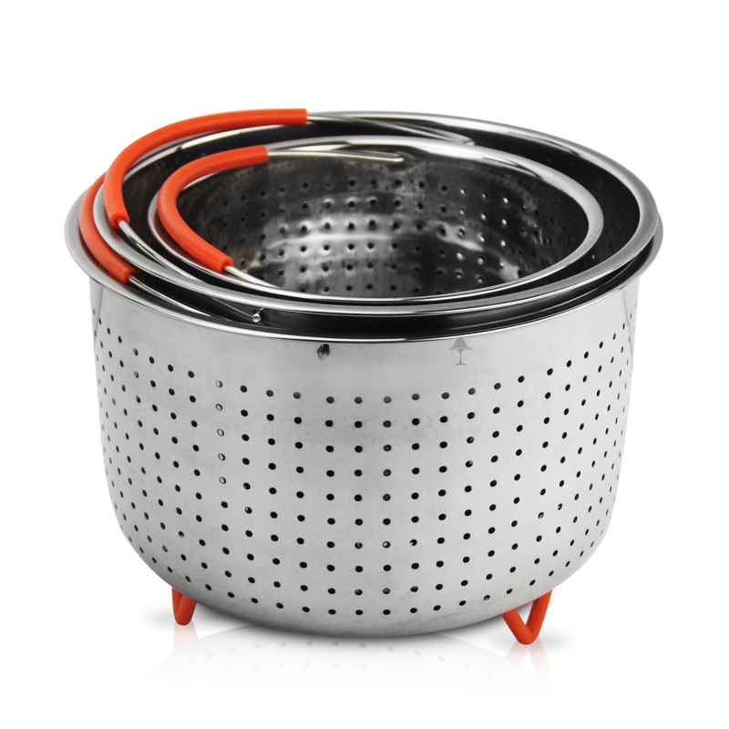 Stainless Steel Instant Pot Steam Basket Household Steamer Basket Instant Pot HC-00420