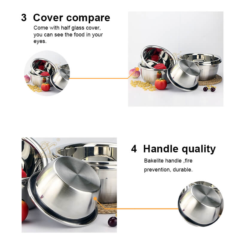 stainless steel basin price instant pot Steamer Basket  supplier