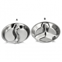 Stainless Steel Dishes Assorted Salad Sauce Dipping Dish Kimchi Dish Tray Bowl Kitchen HC-02728AB