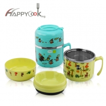 Cute Lunch Box Insulated Bento Lunch Box Food Container Storage Bento Boxes HC-02930