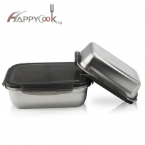 Metal Lunch Box Airtight Containers Stainless Steel Lunch Box Food Storage Box  HC-03123-B