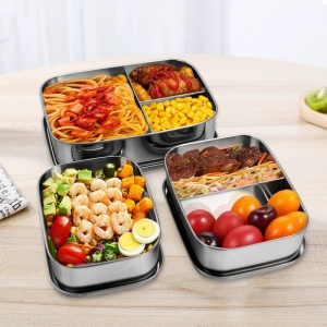 food storage containers Organizer Leak-Proof Sandwich Box for Children!