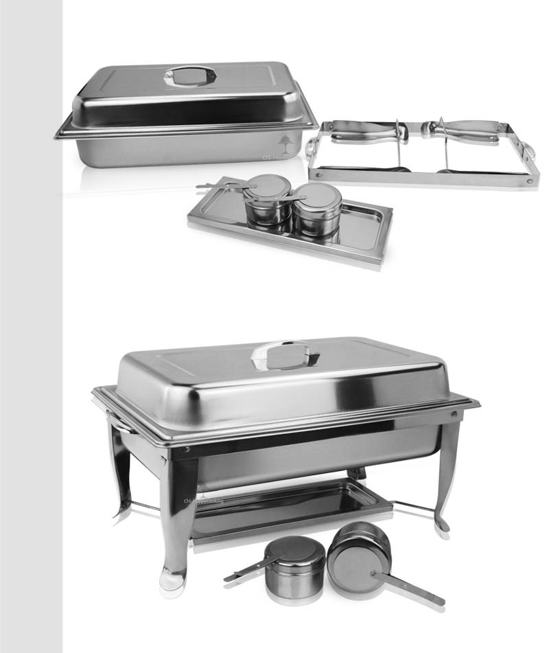 food Warmer  supplier restaurant chafing dishes export