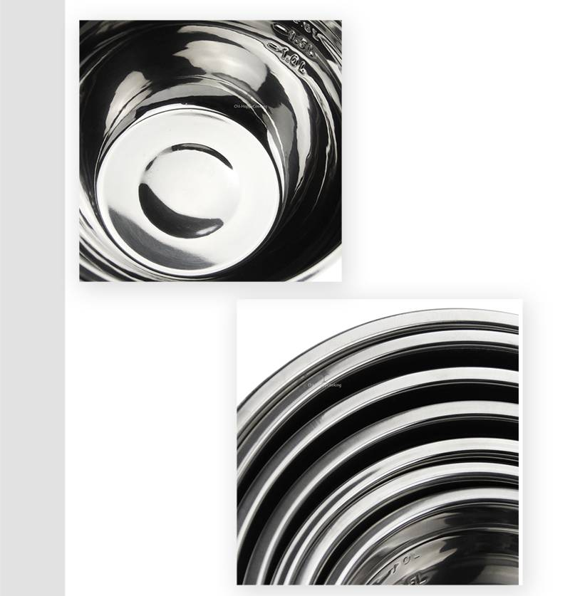 Stainless Mixing Bowl ODM restaurant baskets