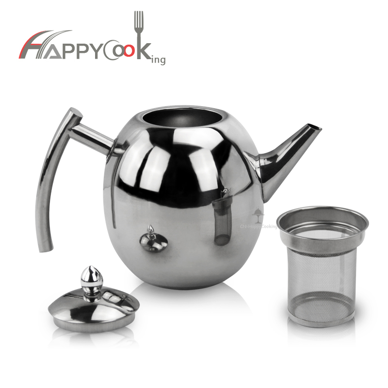stainless whistling kettle  ODM Thermal Teapot supplier
