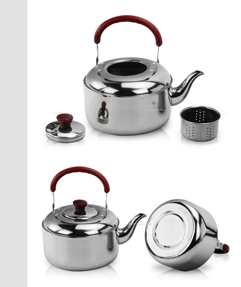 alcohol kettle factory Stainless Steel Teapot manufacturer