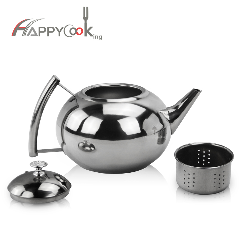 Stainless Steel Whistling Kettle Unique teapot with Tea  Kettle Teapot Kettle HC-01322-B