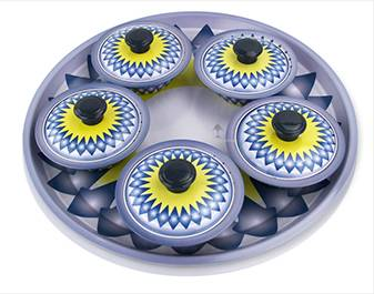 bowl sets  ODM steel circle plate printing supplier