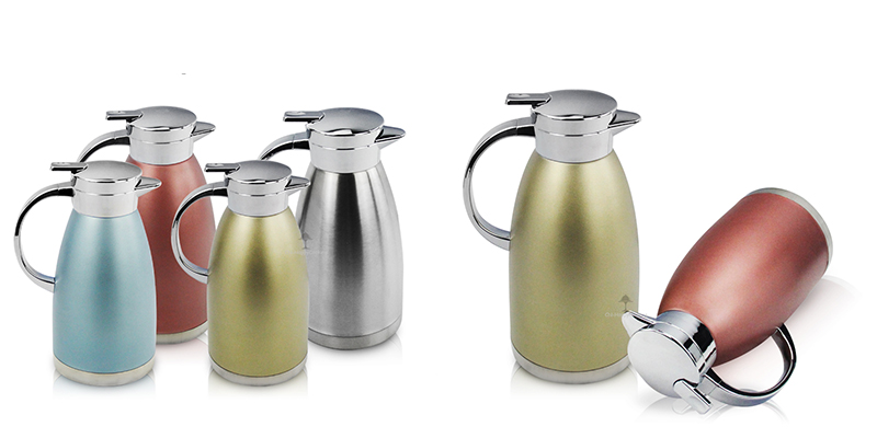 Vacuum carafe coffee pot odm  stainless steel