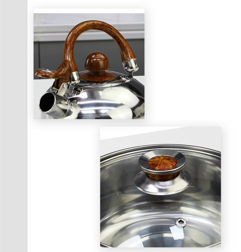 Pots and pans OEM Set of cooking stainless steel factory