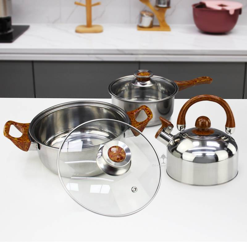 Pots and pans ODM Set of cooking stainless steel