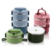 Lunch Bento Box Stainless Steel Bento Box Thermal Food Storage Container Outdoor Camp PicnicHC-02941