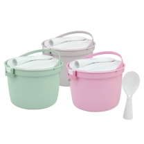 Microwave Rice Container Steamed Rice Cooker Multifunctional Kitchen Rice Storage Container HC-01816