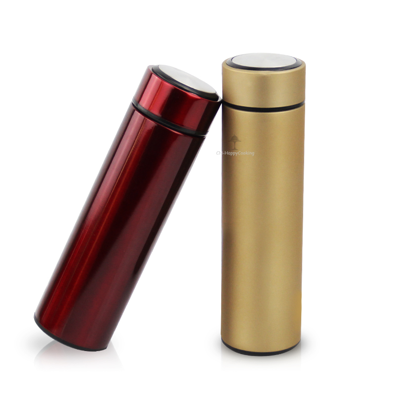 Vacuum Drinking Flask Thermo Insulated Cup Water Bottle Stainless Steel Double Wall  HC-03315