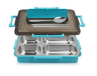 Stainless Steel Lunch Container  ODM Food Container Box supplier