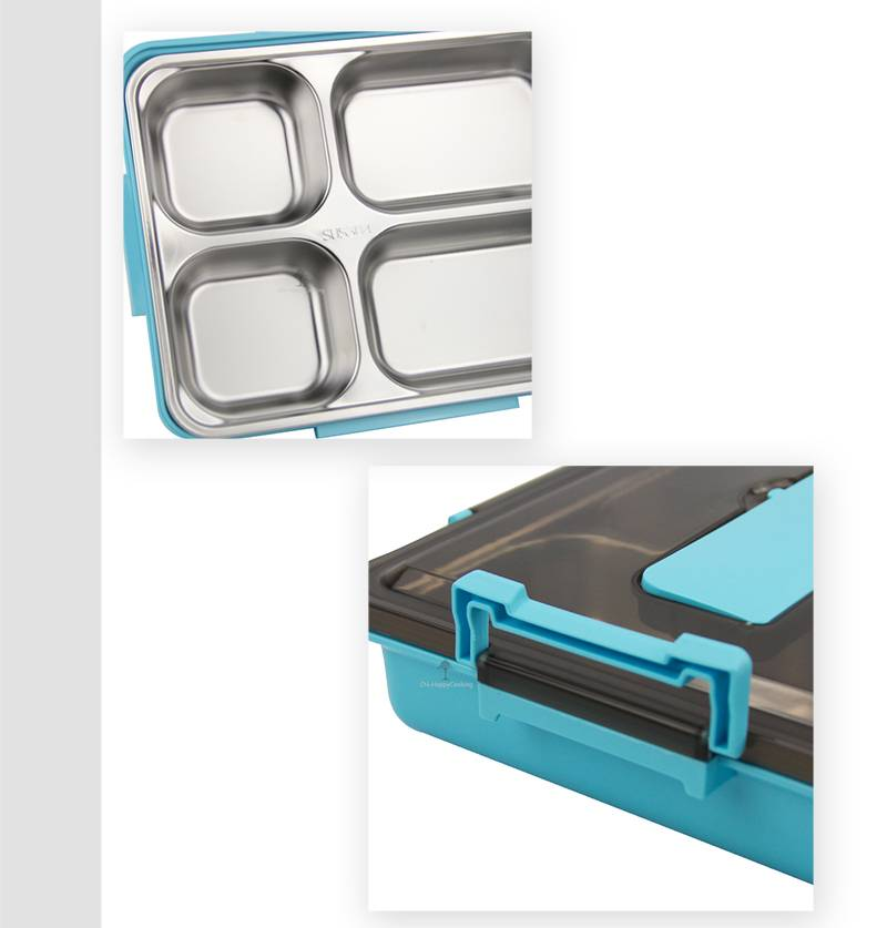 Stainless Steel Lunch Container OEM Food Container Box factory