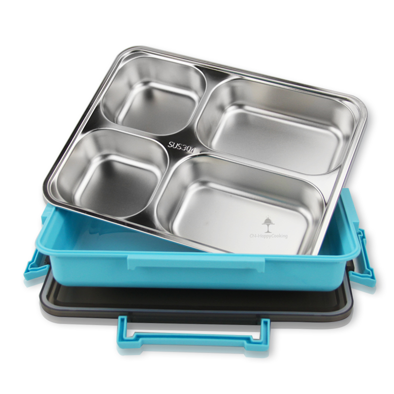 Stainless Steel Lunch Container  ODM Food Container Box