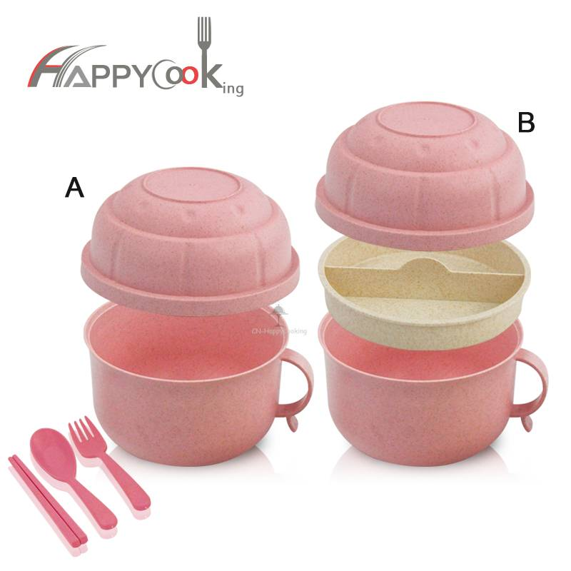 Bento Box for Kids ODM Wheat Straw cup factory