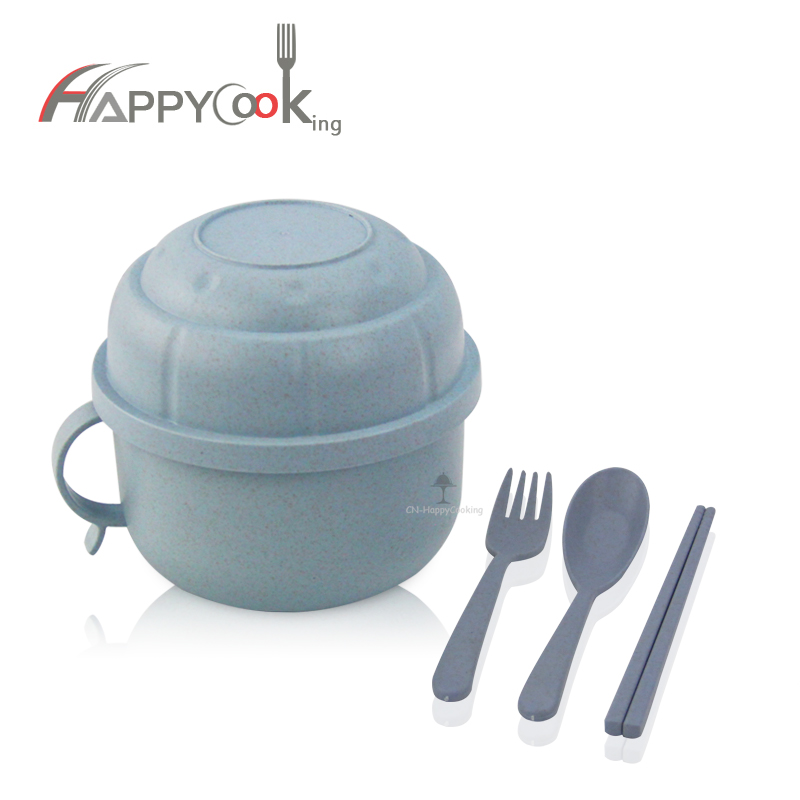 Bento Box for Kids OEM Wheat Straw cup