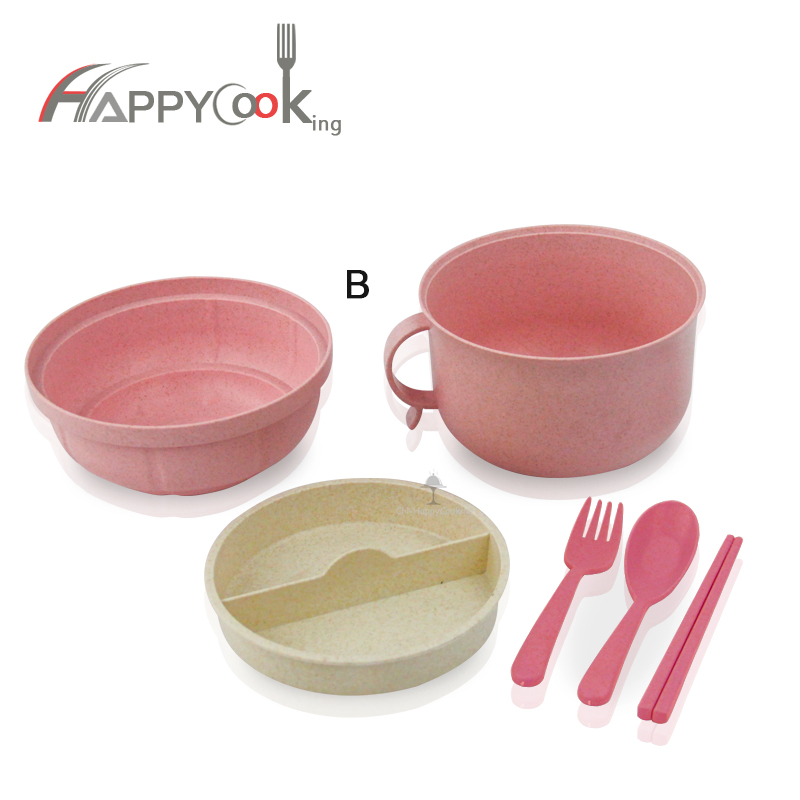 Bento Box for Kids OEM Wheat Straw cup supplier