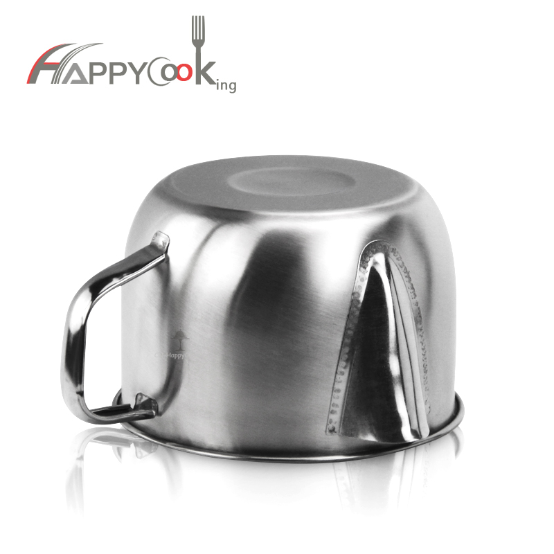 Flask Oil Strainer Container Oil Filter Mug Stainless Steel Kitchen Cooking Oil Filter  HC-03409