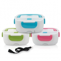 Electric Heating Container  220V Electric Food Warmer Thermal Bento Box Plastic Container  HC-02937