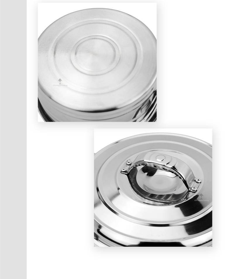 Stainless Steel Pan Induction  factory Casserole Pot