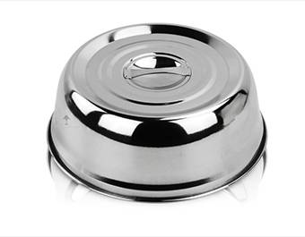 stainless steel cover  ODM wok lid supplier