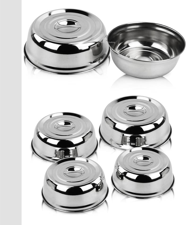 stainless steel cover manufacturer wok lid
