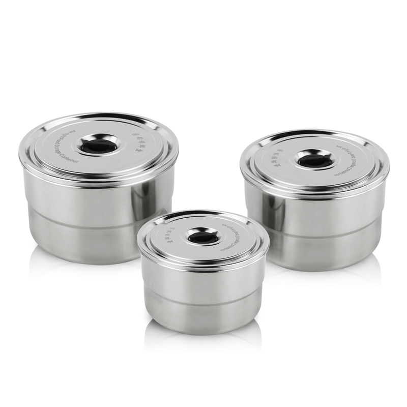 stainless steel containers manufacturer Steel Shave Bowl With Lids wholesaler