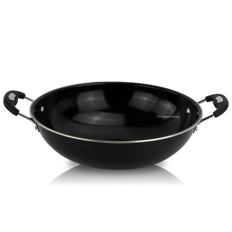 China Round Wok and fry pan manufacturer Frying Pan wholesaler