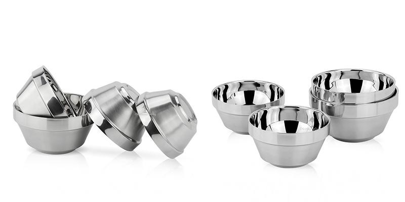 Stainless steel ODM rice bowl