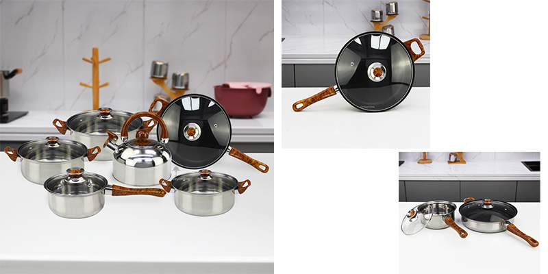 Pots and pans ODM stainless steel