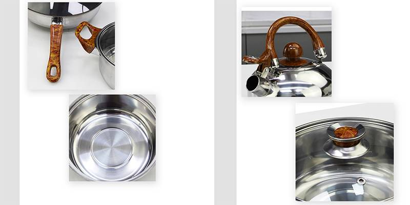 Pots and pans OEM stainless steel