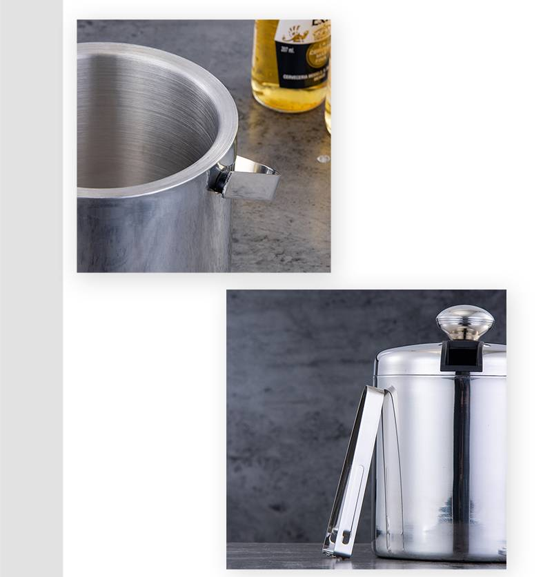ice buckets with lid OEM ice barrel factory